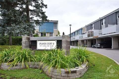 Condo for sale at 825 Cahill Dr Unit 162 Ottawa Ontario - MLS: 1209343