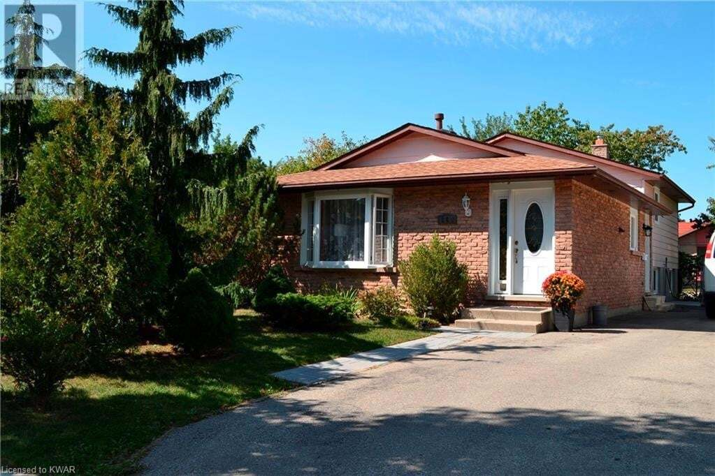 House for sale at 162 Cedarwoods Cres Kitchener Ontario - MLS: 40023168