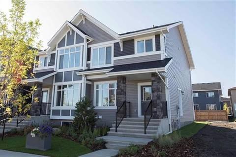 Townhouse for sale at 162 Savanna Pk Northeast Calgary Alberta - MLS: C4294773