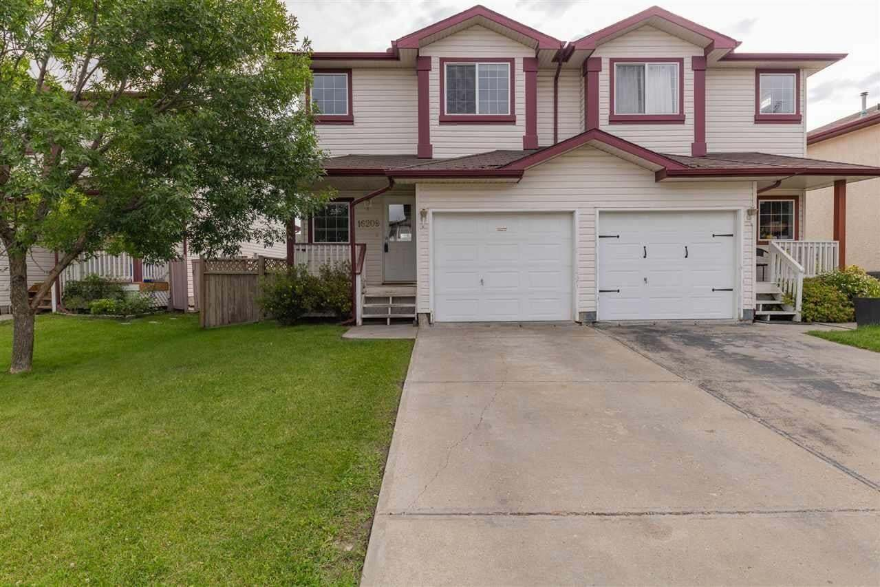 Townhouse for sale at 16209 93 St NW Edmonton Alberta - MLS: E4210309