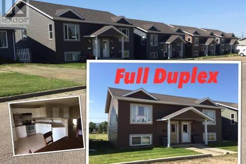Townhouse for sale at 1621 100 Ave Dawson Creek British Columbia - MLS: 177309