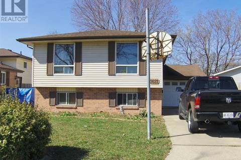 House for sale at 1621 Courtland Cres Windsor Ontario - MLS: 19018310