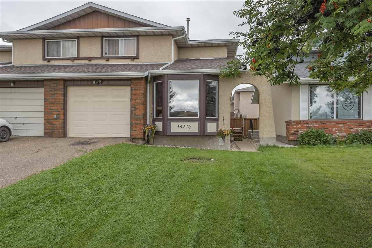 Townhouse for sale at 16210 109 St Nw Edmonton Alberta - MLS: E4169235