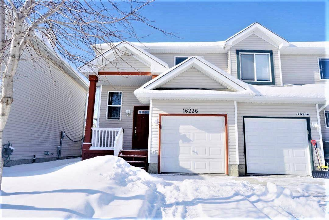 Townhouse for sale at 16236 131 St Nw Edmonton Alberta - MLS: E4187665