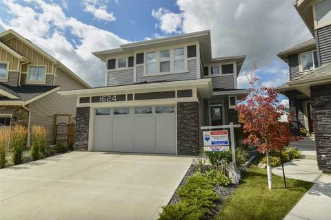 House for sale at 1624 158 St Sw Edmonton Alberta - MLS: E4154740