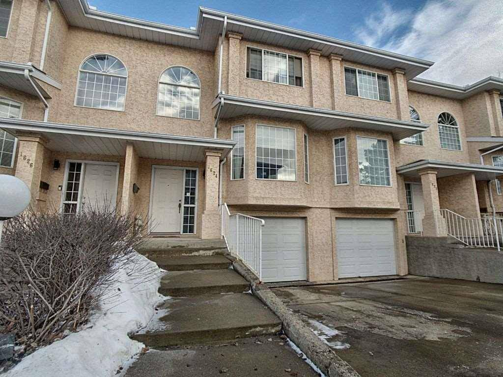 Townhouse for sale at 1624 Jamha Rd Nw Edmonton Alberta - MLS: E4189838