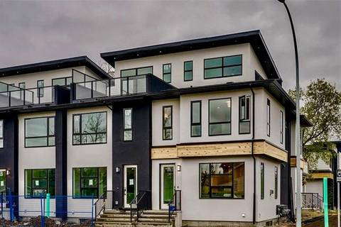 Townhouse for sale at 1625 6 Ave Northwest Calgary Alberta - MLS: C4246049