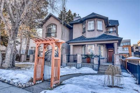 Townhouse for sale at 1627 21 Ave Northwest Calgary Alberta - MLS: C4282989