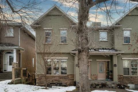 Townhouse for sale at 1629 17 Ave Northwest Calgary Alberta - MLS: C4278066