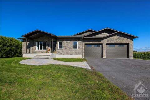 House for sale at 1629 St Joseph Rd Embrun Ontario - MLS: 1211099