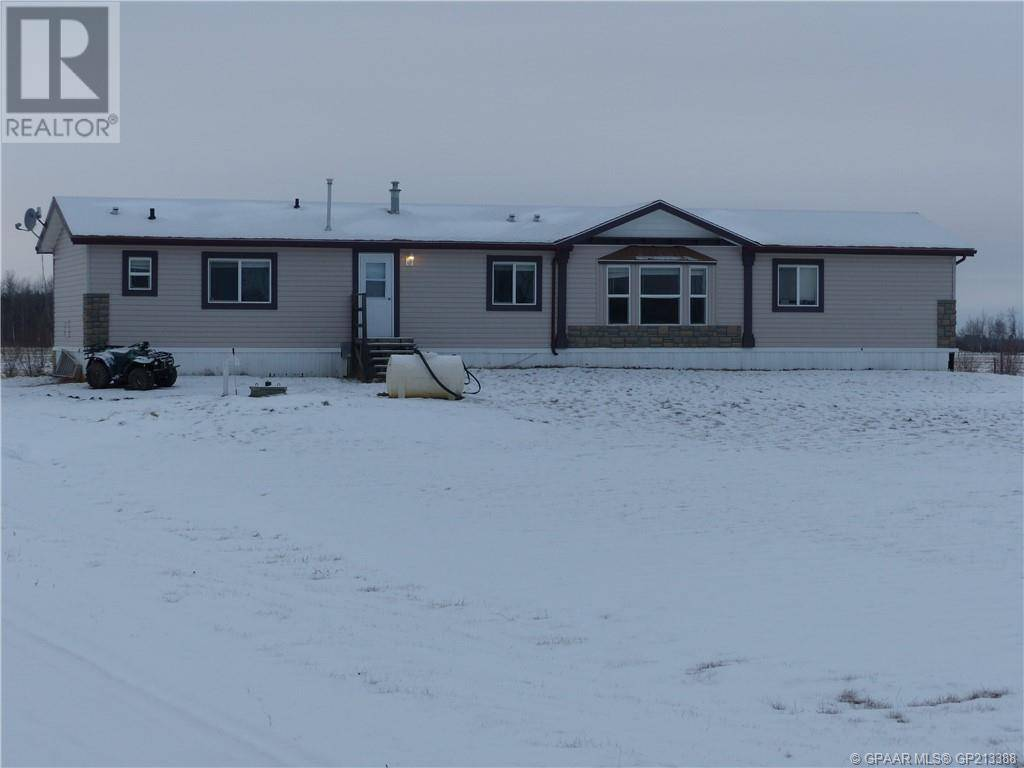 House for sale at 74028 163 Road Rd Unit 163 High Prairie Alberta - MLS: GP213388
