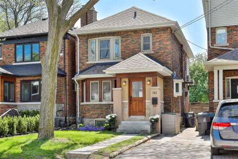 House for sale at 163 Deloraine Ave Toronto Ontario - MLS: C4771767