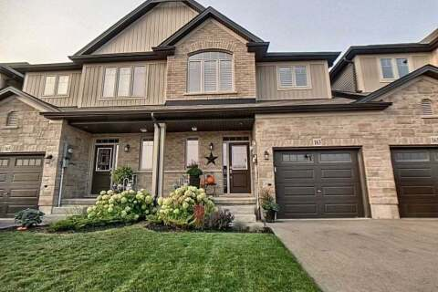 Townhouse for sale at 163 Fall Fair Wy Hamilton Ontario - MLS: X4915415