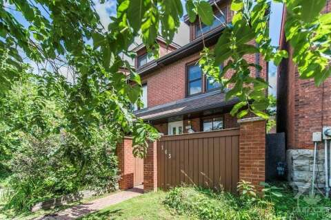 Townhouse for sale at 163 King Edward Ave Ottawa Ontario - MLS: 1204763