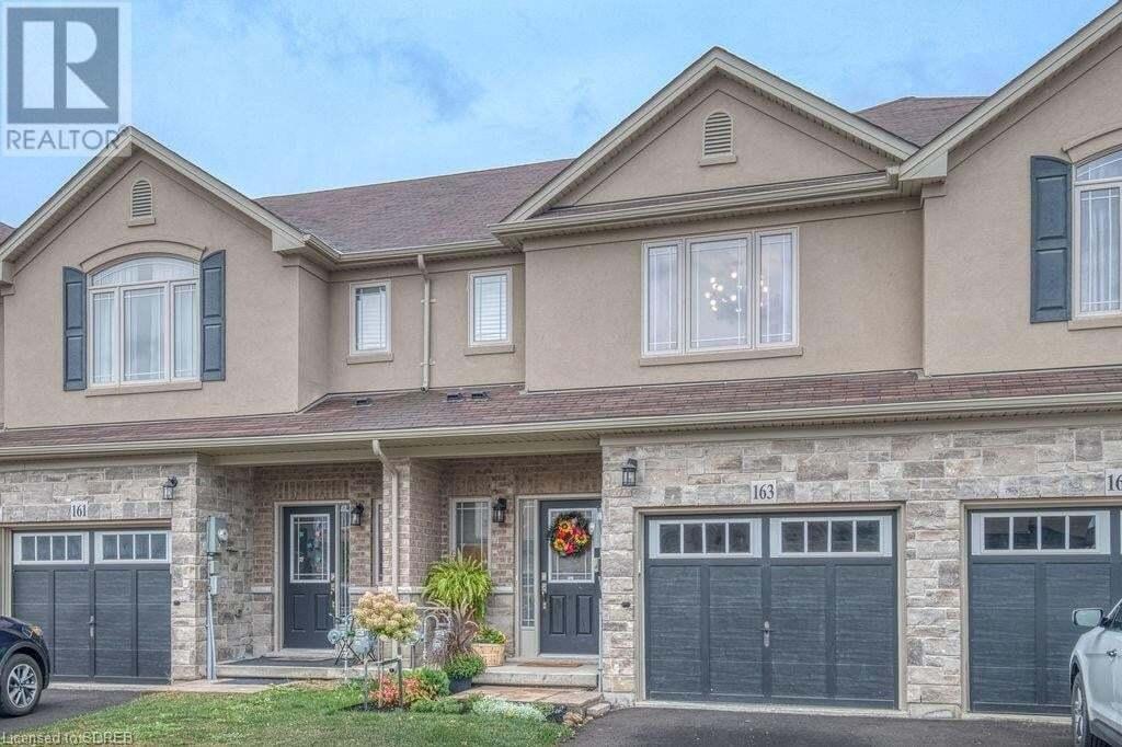 Townhouse for sale at 163 Kinsman Dr Binbrook Ontario - MLS: 40017886