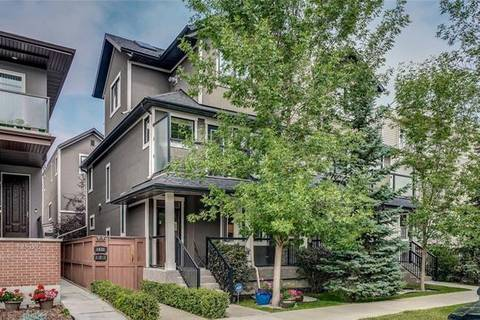 Townhouse for sale at 1630 14 Ave Southwest Calgary Alberta - MLS: C4278299