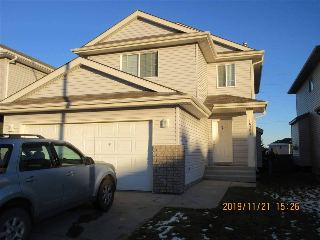 House for sale at 16305 45 St Nw Edmonton Alberta - MLS: E4180501