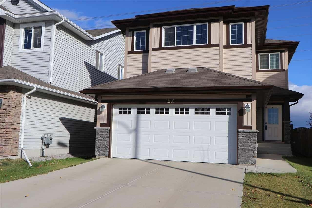 House for sale at 1631 28 St NW Edmonton Alberta - MLS: E4217656