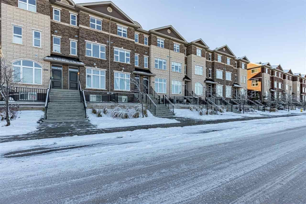 Townhouse for sale at 1631 Cunningham Wy Sw Edmonton Alberta - MLS: E4180504