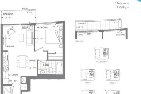 Apartment for rent at 460 Adelaide St Unit 1632 Toronto Ontario - MLS: C4412472