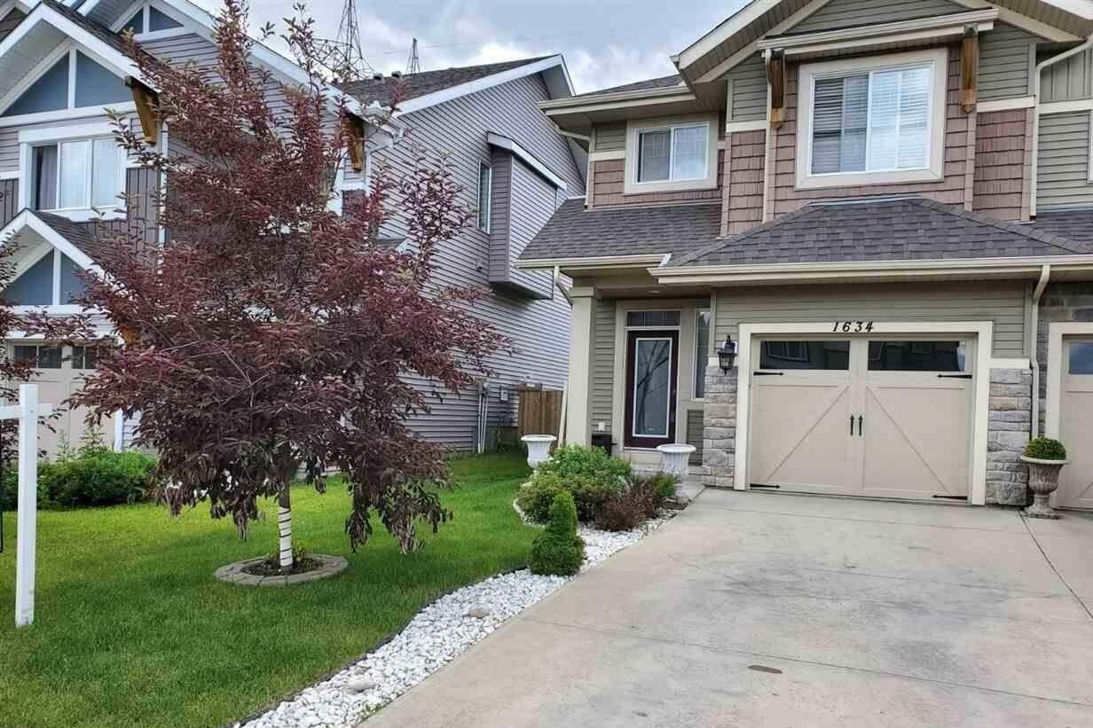 Townhouse for sale at 1634 Chapman Wy SW Edmonton Alberta - MLS: E4203286