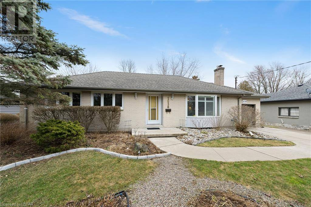 House for sale at 1638 Sharon Dr London Ontario - MLS: 245252