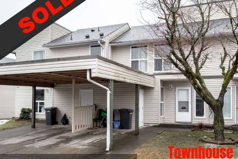 Townhouse for sale at 32550 Maclure St Unit 164 Abbotsford British Columbia - MLS: R2361830