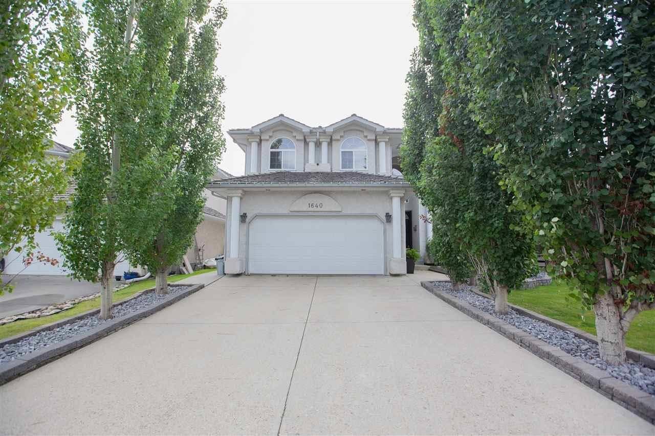 House for sale at 1640 Welbourn Cv  Nw Edmonton Alberta - MLS: E4172975