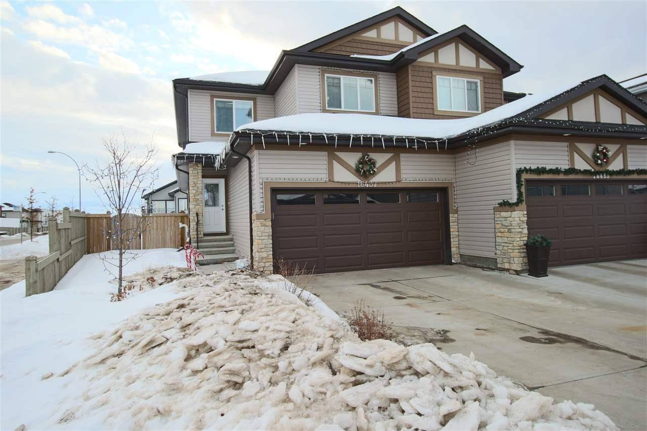 Townhouse for sale at 16437 132 St Nw Edmonton Alberta - MLS: E4189009