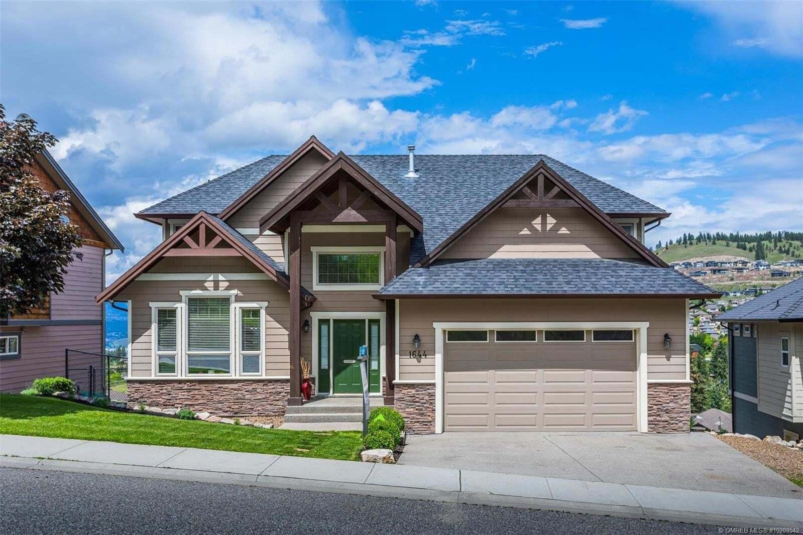 House for sale at 1644 Sunrise Rd Kelowna British Columbia - MLS: 10209542
