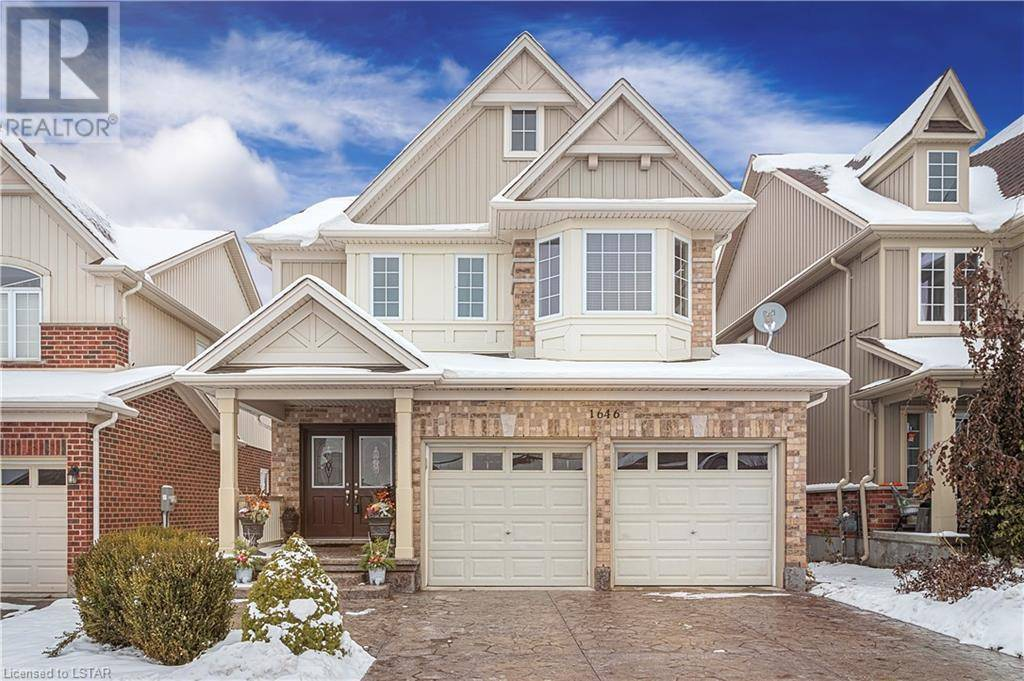 House for sale at 1646 Cedarcreek Cres London Ontario - MLS: 232357