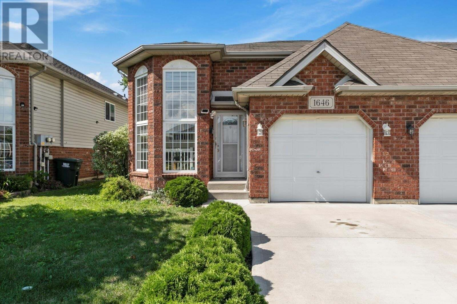 Townhouse for sale at 1646 Lovell  Lasalle Ontario - MLS: 20009456