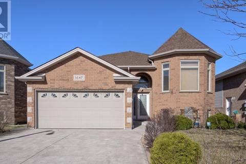 House for sale at 1647 Meridian  Windsor Ontario - MLS: 19016104