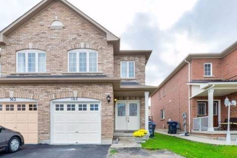 Townhouse for sale at 165 Albright Rd Brampton Ontario - MLS: W4366202