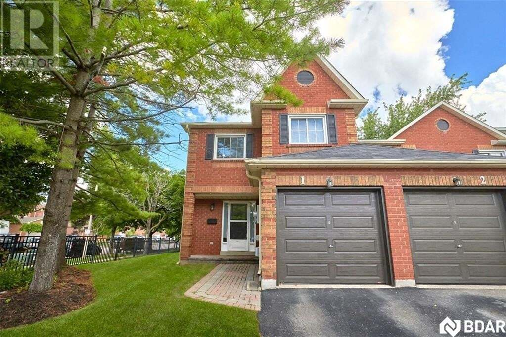 Townhouse for sale at 165 Kozlov St Barrie Ontario - MLS: 30827218