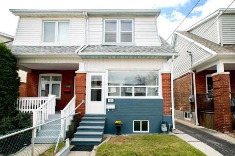 Townhouse for sale at 165 Milverton Blvd Toronto Ontario - MLS: E4427157