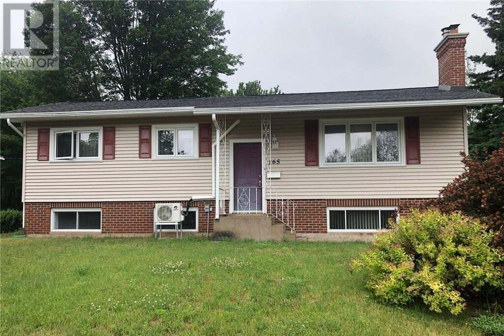 House for sale at 165 Sussex  Riverview New Brunswick - MLS: M129347