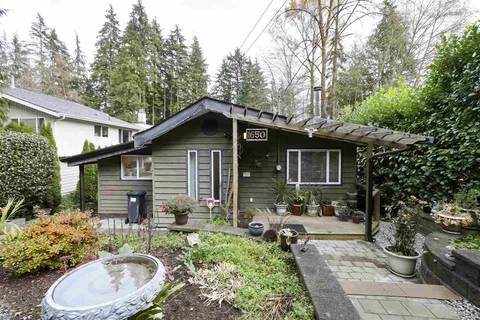 House for sale at 1650 Deep Cove Rd North Vancouver British Columbia - MLS: R2419399