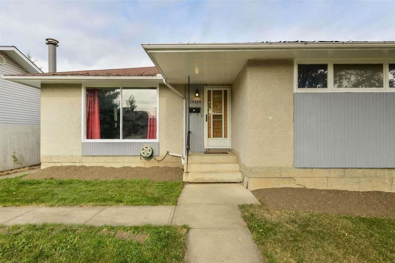 House for sale at 16504 90 Av NW Edmonton Alberta - MLS: E4215984