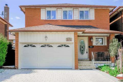 House for sale at 1651 Warren Dr Mississauga Ontario - MLS: W4769323