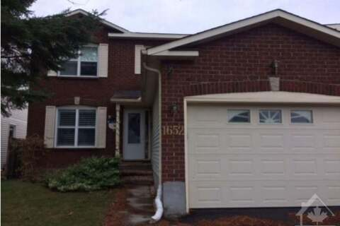 House for sale at 1652 Kindersley Ave Ottawa Ontario - MLS: 1216106