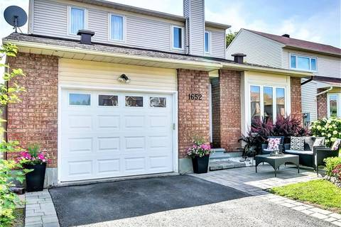 House for sale at 1652 Westport Cres Ottawa Ontario - MLS: 1160406