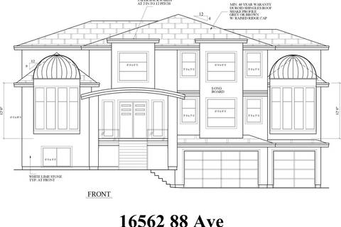 Home for sale at 16562 88 Ave Surrey British Columbia - MLS: R2402972
