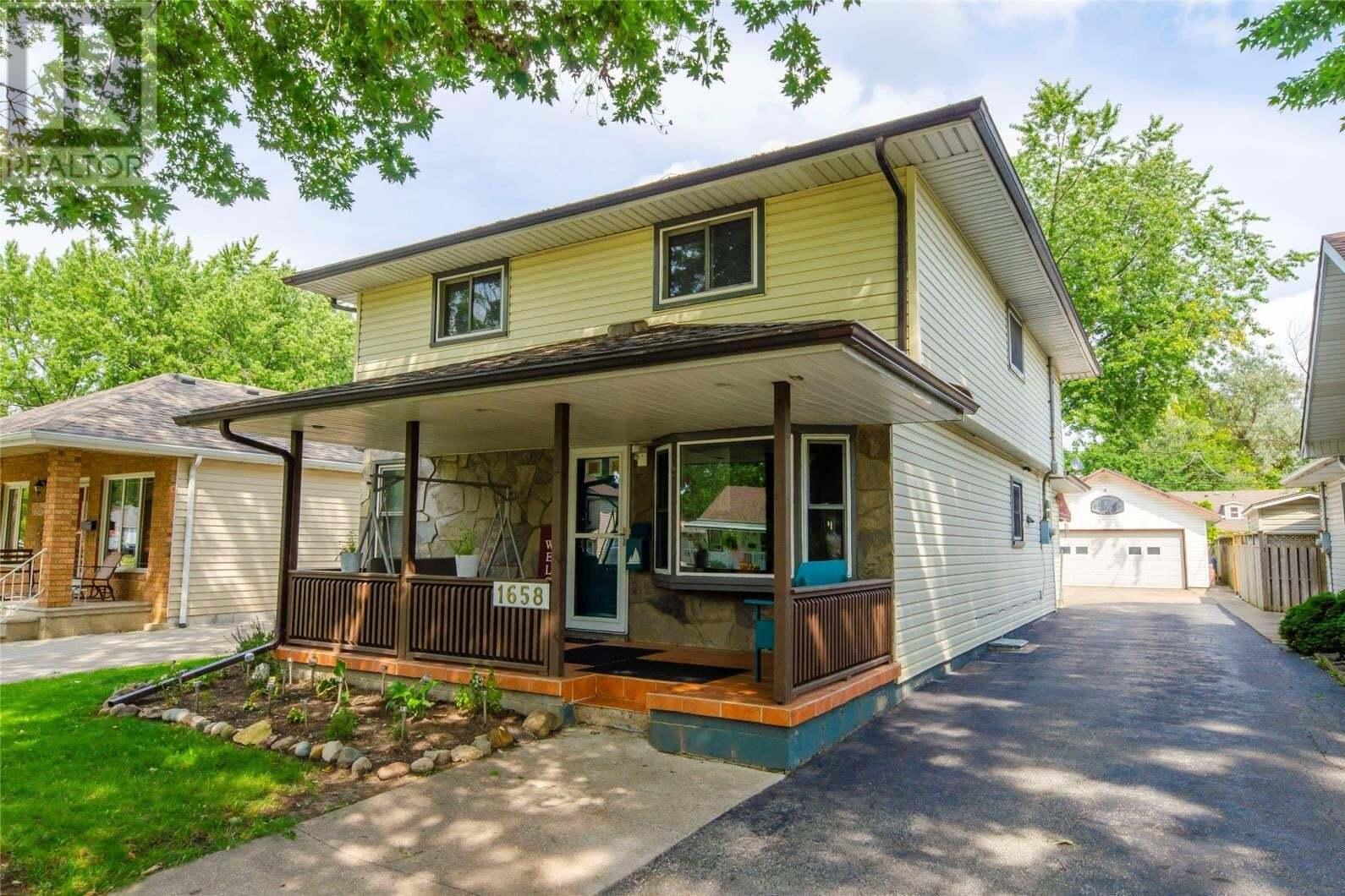 House for sale at 1658 Buckingham  Windsor Ontario - MLS: 20011445