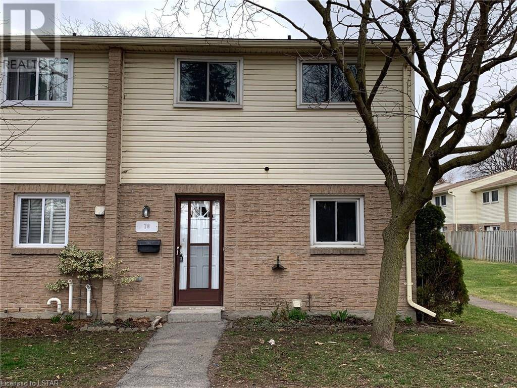 Townhouse for sale at 78 Southdale Rd West Unit 166 London Ontario - MLS: 253531