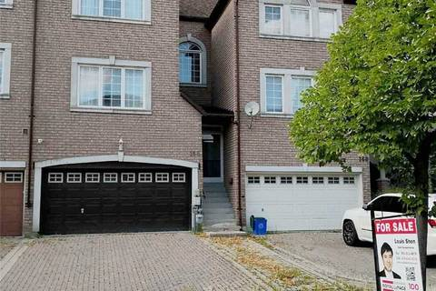Townhouse for sale at 166 Leitchcroft Cres Markham Ontario - MLS: N4550507
