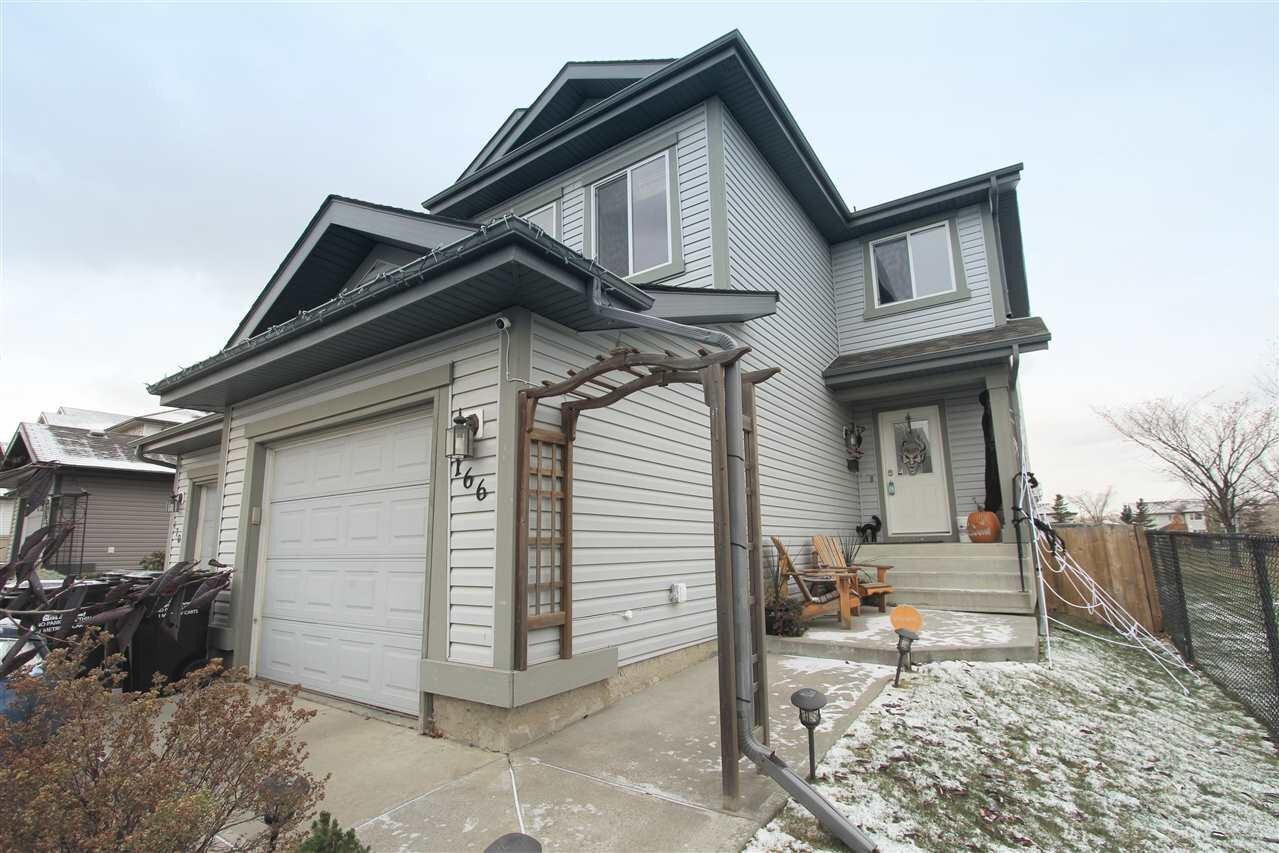 Townhouse for sale at 166 Summerton Cr Sherwood Park Alberta - MLS: E4218833