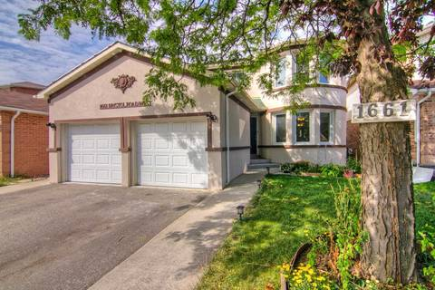 House for sale at 1661 Bristol Rd Mississauga Ontario - MLS: W4595422