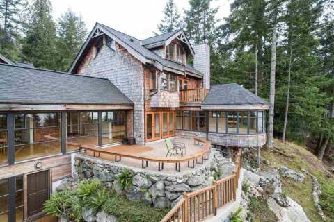 House for sale at 1663 White Sails Dr Bowen Island British Columbia - MLS: R2503280