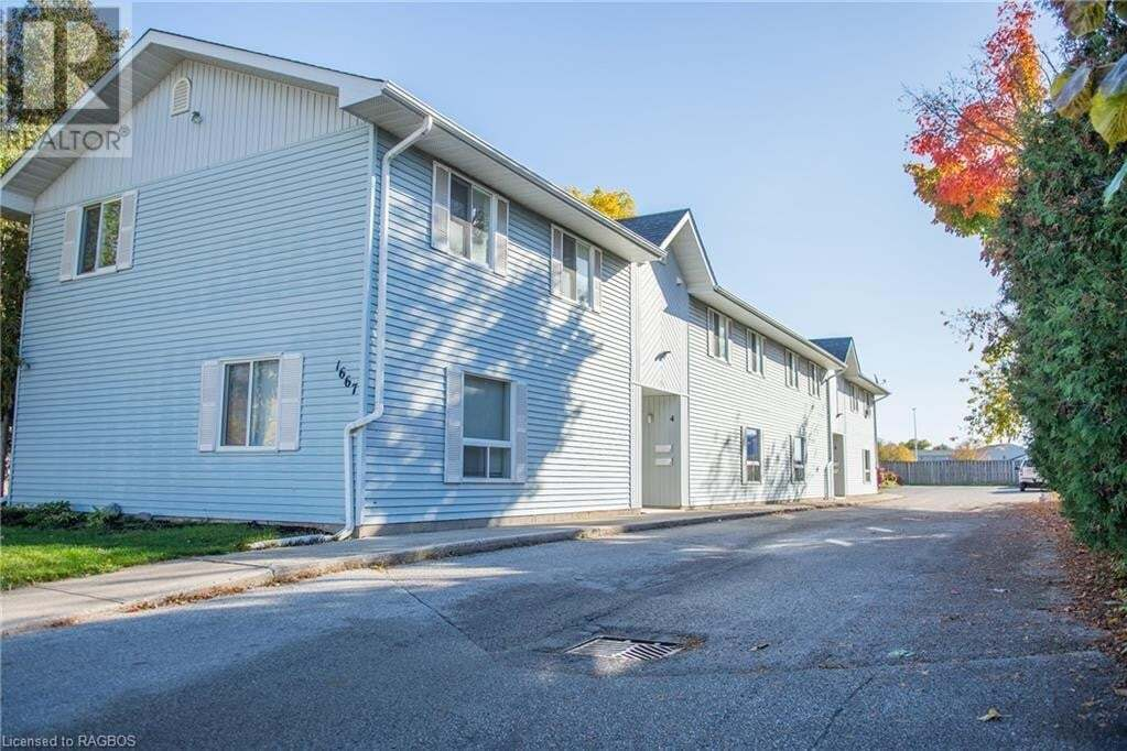 Townhouse for sale at 1667 9th Ave East Owen Sound Ontario - MLS: 40033929
